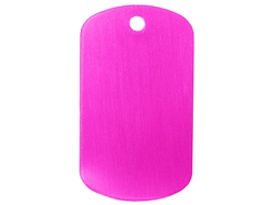 "NDZ Pink Dog Tag Kit With 24"" Chain & Silencer (*LZ)"