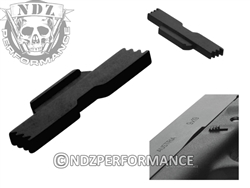 NDZ Black Extended Slide Lock Lever for Glock 43