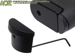 NDZ Black Grip Plug for Glock 42 (*LZ)