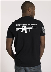 Nine Line Men's Short Sleeve T-Shirt Brother In Arms