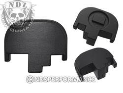 NDZ Black Rear Plate for Smith & Wesson M&P Full-Size Compact M&P 2.0 (*LZ)
