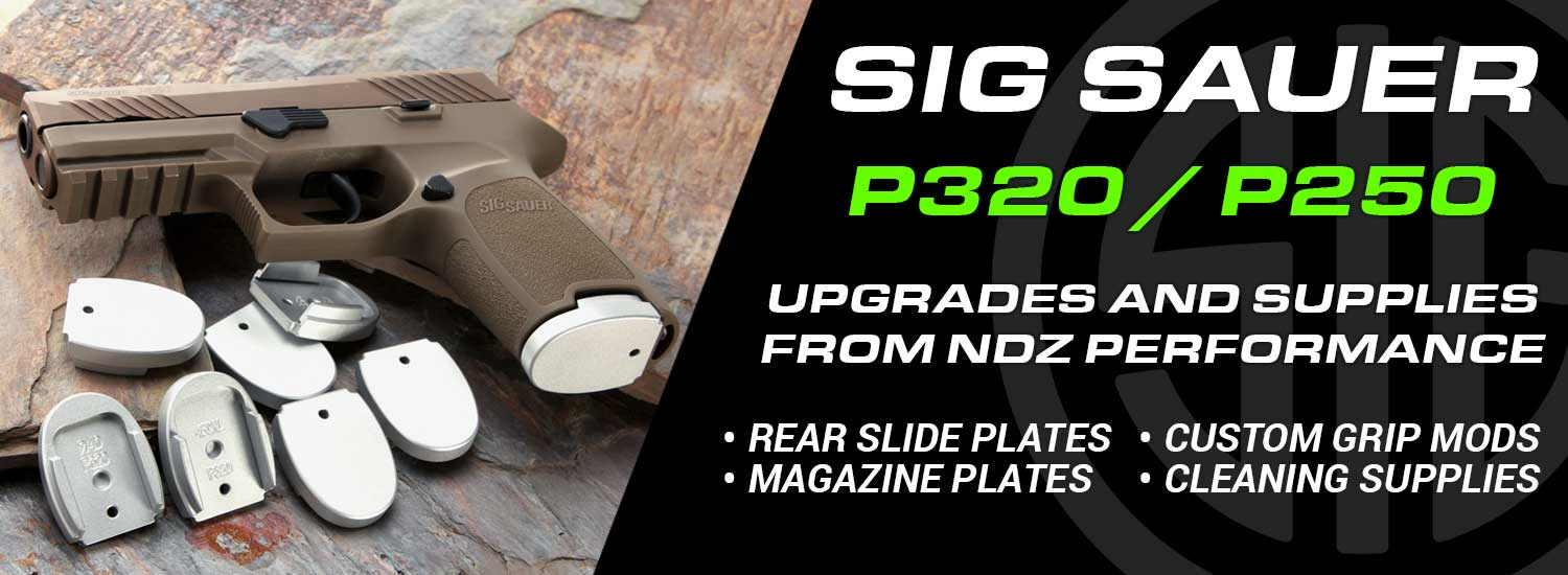 Custom Sig P320 Parts And Mods - Accessories | NDZ Performance