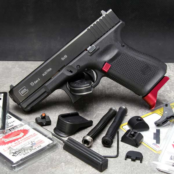 Glock Gen 5 parts and upgrades by NDZ Performance