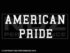 033 - American Pride Text