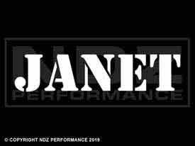 1070 - Names Janet