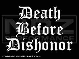 117 - Death Before Dishonor