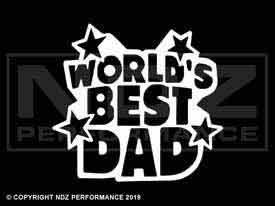 1595 - Fathers Day Worlds Best Dad