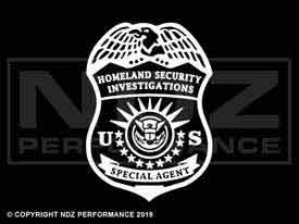 1952 - Homeland Security Special Agent Badge