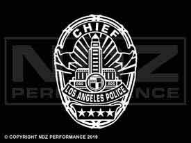 1958 - LAPD Badge Chief