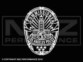1960 - LAPD Badge Commissioner