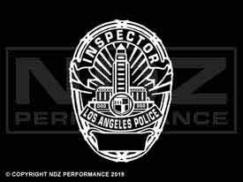 1963 - LAPD Badge Inspector