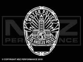 1965 - LAPD Badge Motorpolice