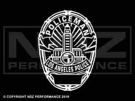 1966 - LAPD Badge Policeman