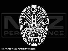 1970 - LAPD Badge Swat