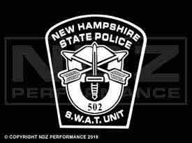 1977 - New Hampshire State Police Swat Badge