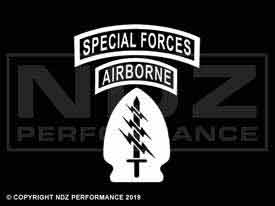 2004 - Special Forces Airborne Patch