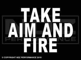 2011 - Take Aim And Fire