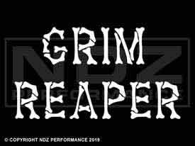 208 - Grim Reaper Bone Text