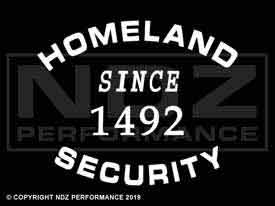 226 - Homeland Security 1492
