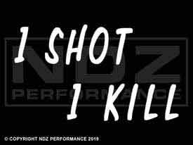 327 - One Shot One Kill Staggered