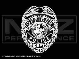 340 - Police Officer Logo 1