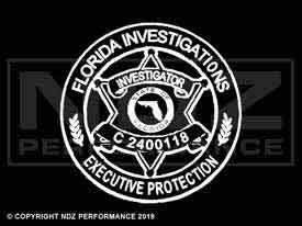 344 - Police Florida Investigations Executive Protection