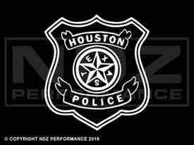 353 - Houston Police Logo