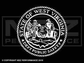 476 - West Virginia State Seal
