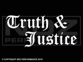 517 - Truth & Justice Staggered