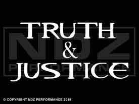 518 - Truth & Justice 2 Line