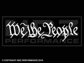 567 - We the People One Line Script