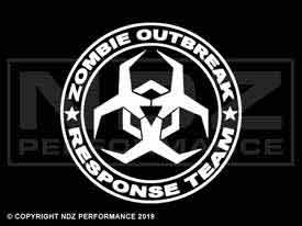 609 - Zombie Response Team Angular Biohazard