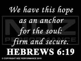 693 - Bible Hebrews 6:19