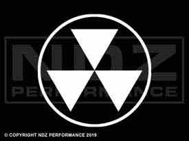 712 - Fallout Shelter Symbol Semi Solid