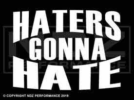 724 - Haters Gonna Hate Text