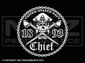 869 - Chief Petty Officer 1893 Cutlasses