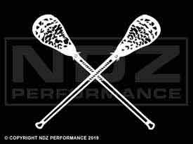 878 - Lacrosse Sticks Crossed