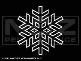 881 - Snowflake Outline