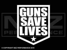 942 - Guns Save Lives Patch