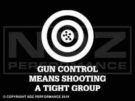 943 - Gun Control Tight Group