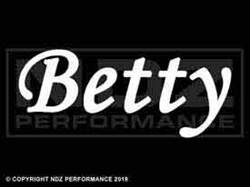 1608 - Names Betty
