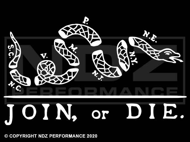 2043-Join Or Die Snake