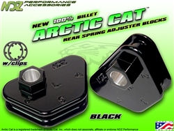 NDZ Black Rear Adjuster Block 4 Position for Arctic Cat