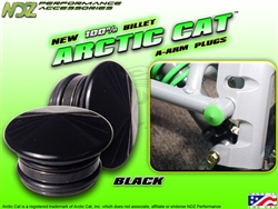 NDZ Performance Black A-Arm Plug for Arctic Cat