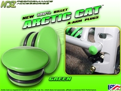 NDZ Performance Green A-Arm Plug for Arctic Cat
