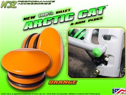 NDZ Performance Orange A-Arm Plug for Arctic Cat