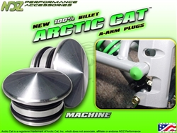 NDZ Performance Silver A-Arm Plug for Arctic Cat