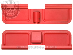 NDZ Cerakote USMC Red Ejection Port Dust Cover for AR-15