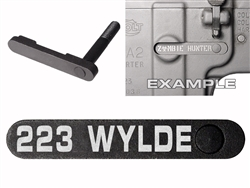 NDZ AR-15 SW 15-22 Black Magazine Catch 223 WYLDE