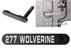 NDZ AR-15 SW 15-22 Black Magazine Catch 277 WOLVERINE